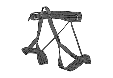 Harnesses for alpine tours