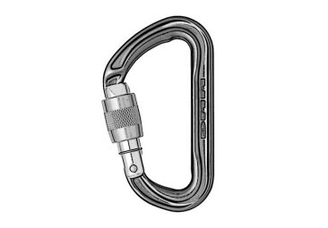 Carabiners D-shape