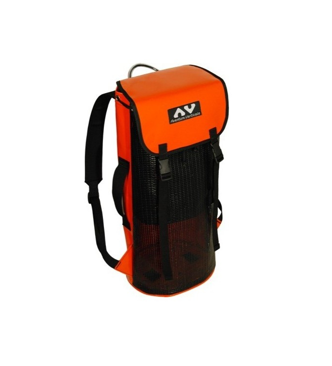 AV - Water bag grille mit Deckelklappe 35 L orange