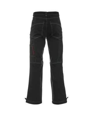 Steinwild - Rockstar Kletterhose grey red XS regular