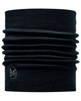 Buff - Heavyweight Merino Wool Solid Black