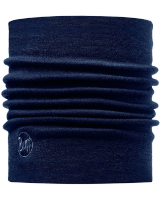 Buff - Heavyweight Merino Wool Solid Denim