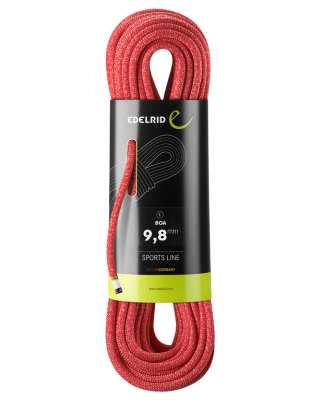 Edelrid - Boa 9,8mm red
