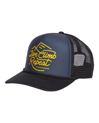 Black Diamond - Flat Bill Trucker Hat