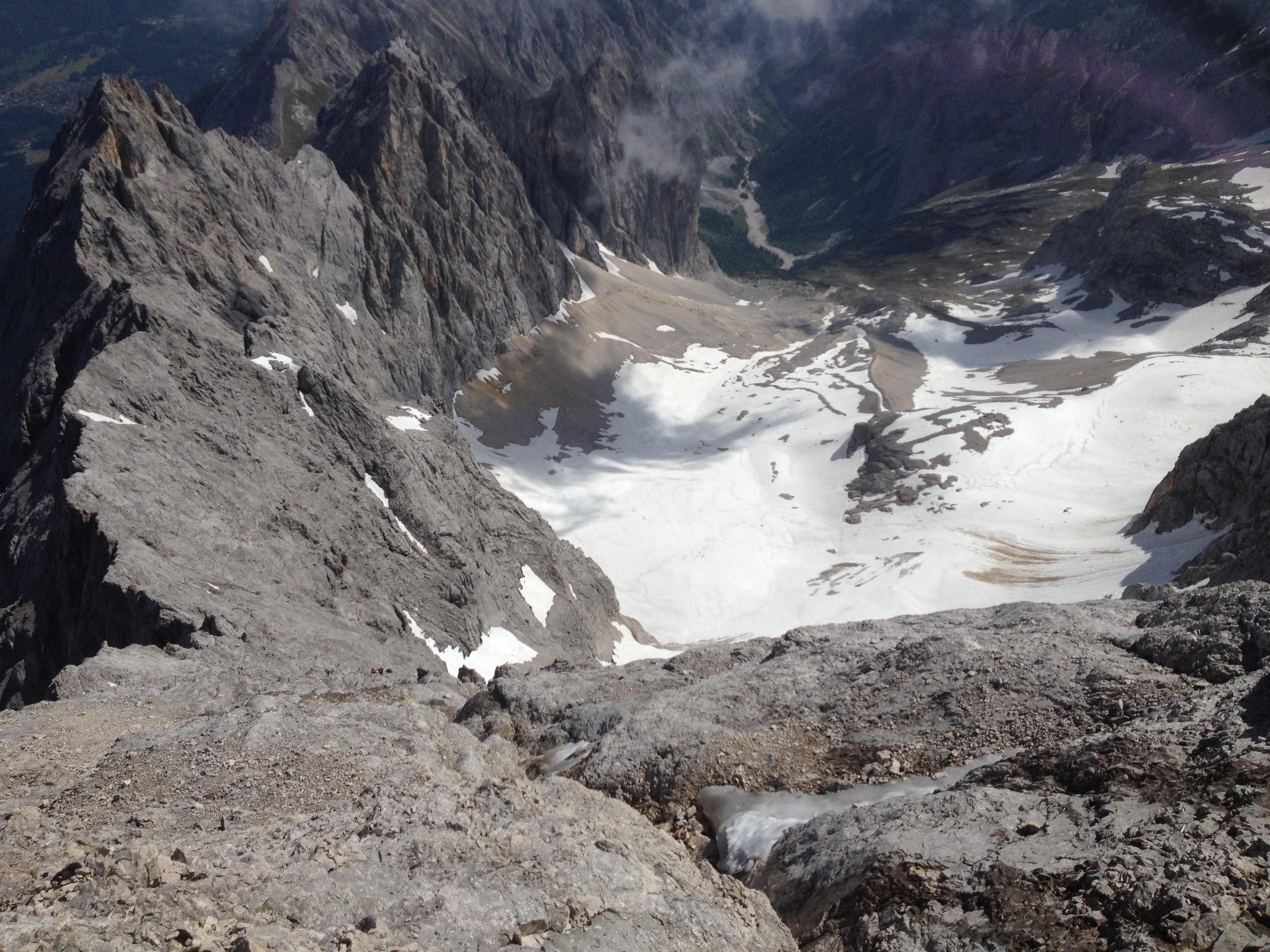 Klettersteigset Ausleihen Garmisch : Tourenbedingungen an alpspitze und zugspitze bei garmisch