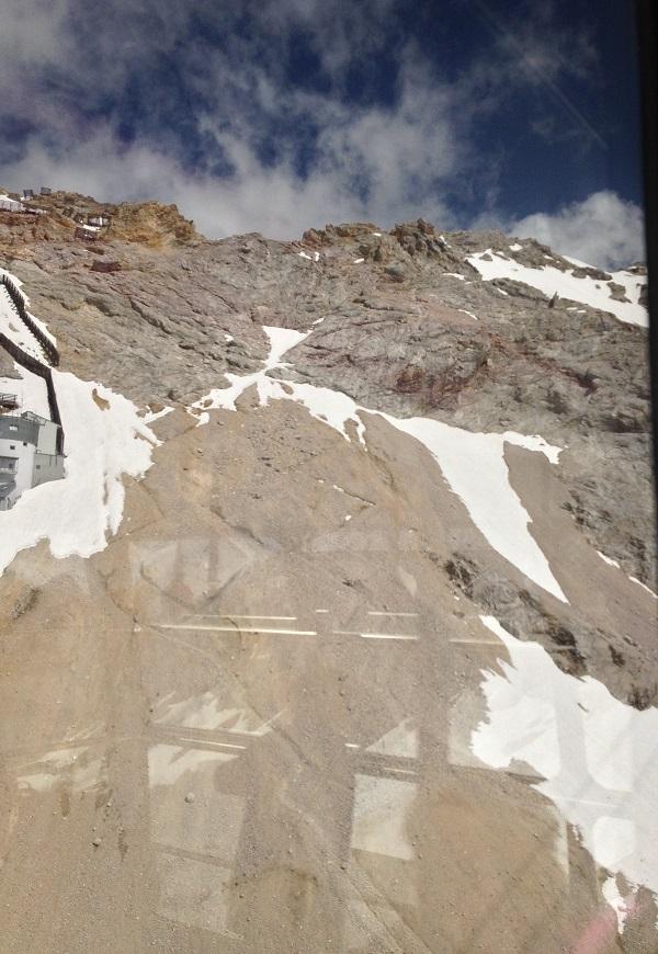 Gipfelanstieg zur Zugspitze vom Sonnalpin