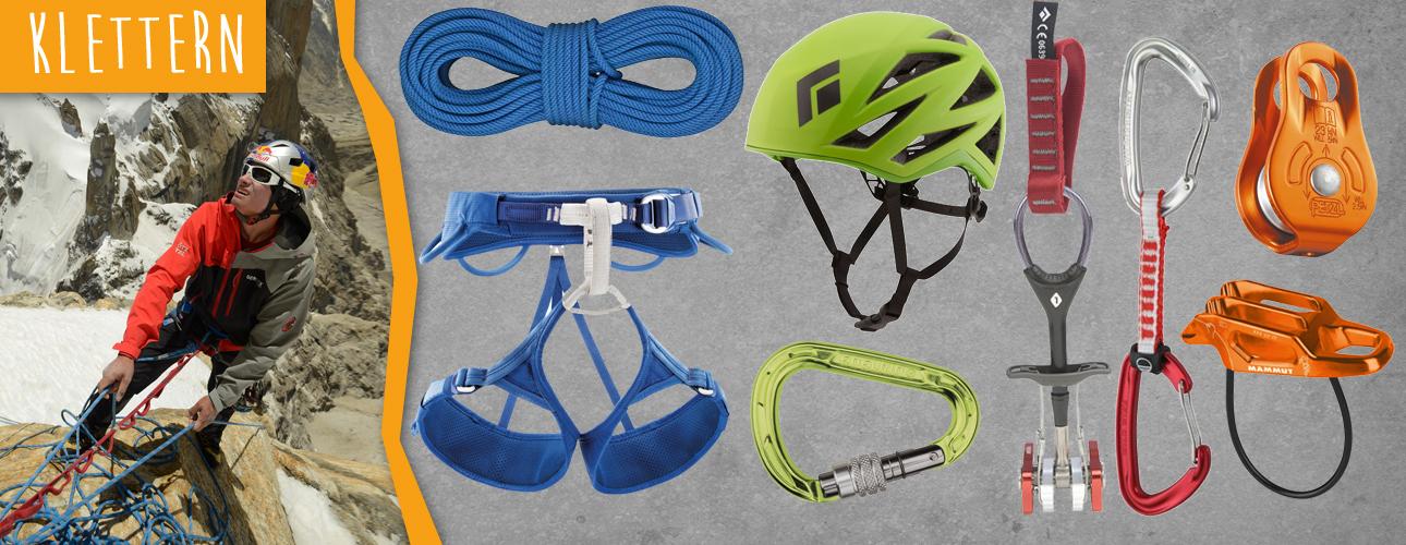 Kletterausrüstung für deine Frühjahrsprojekte