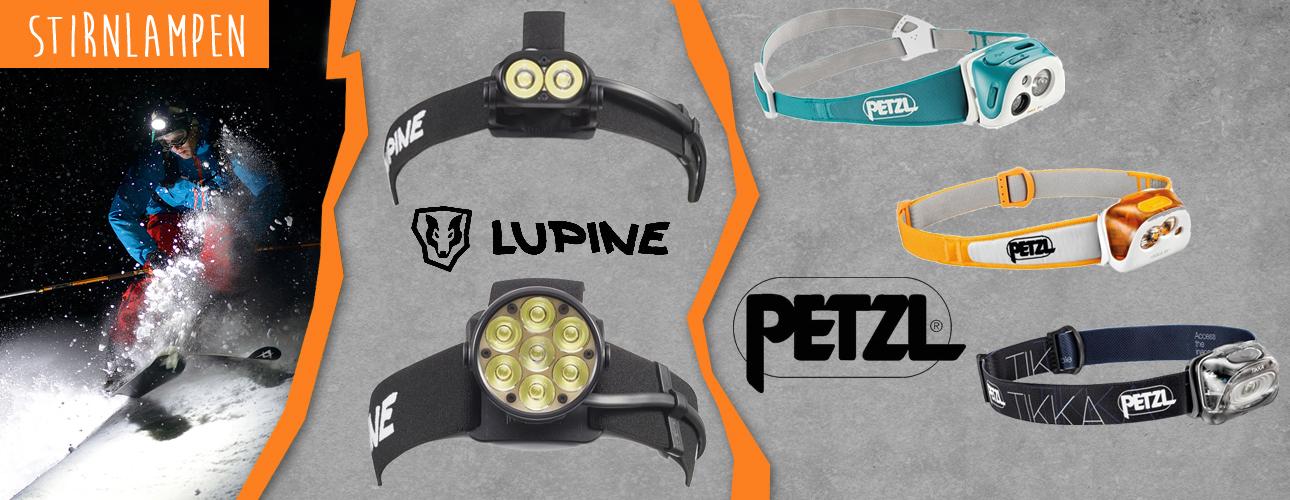 Stirnlampen für die dunkle Jahreszeit!